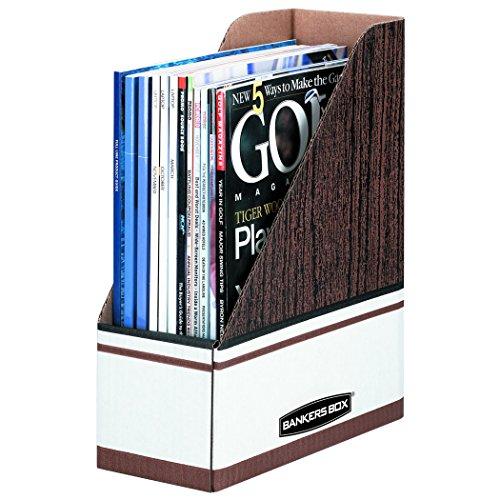 Bankers Box Magazine File Holders Oversized Letter 12 Pack 07224