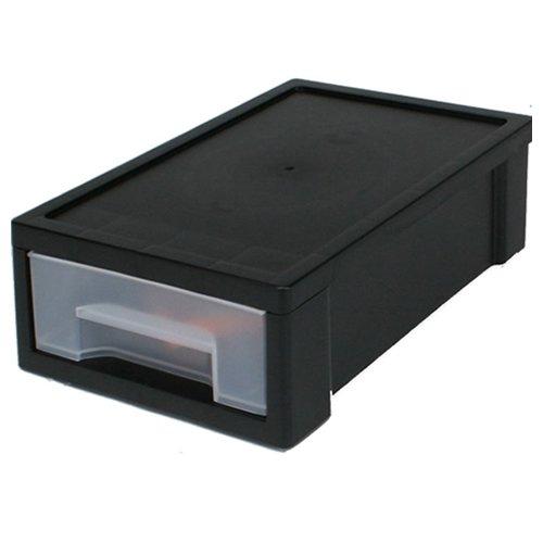 """IRIS Desktop Small Stacking Drawer - 969"""" L x 689"""" W x 356"""" H 1 Drawer"""