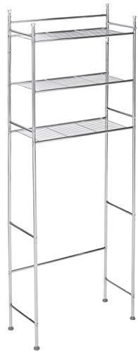 Honey-Can-Do BTH-05079 3-Tier Metal Bathroom Shelf Space Saver 945 x 2283 x 5984 Chrome