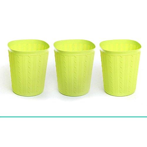 jii2030shann Desktop garbage bucket mini paper baskets garbage baskets storage barrels trumpet minimalist home office waste paper baskets basket trash basket trash rubbish bin trash wastebasket