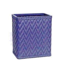 Elegante Collection Decorator Color Wicker Wastebasket S423CB