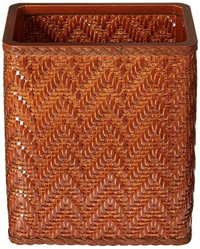 Elegante Collection Decorator Color Wicker Wastebasket S423NM