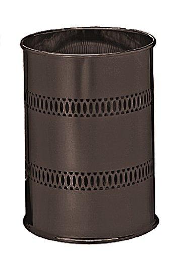 Taymor Oil Rubbed Bronze Round Metal Wastebasket