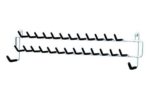 ClosetMaid 8051 Tie and Belt Rack White