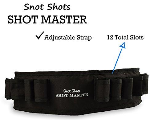 Snot Shots Shot Master Jello Shot Syringe Holder Belt