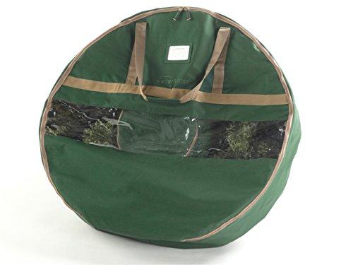 CoverMates – 36 Christmas Wreath Storage Bag – 3 Year Warranty- Green