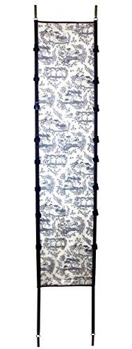 Paula Deen 20205 Southern Toile Everyday Over-The-Door Deluxe Hanging Purse Rack
