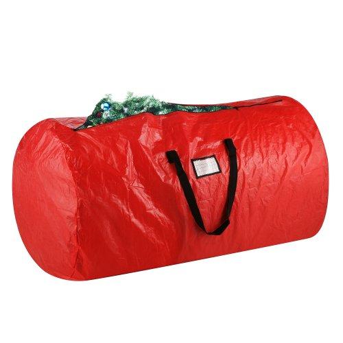 Elf Stor Premium Red Holiday Christmas Tree Storage Bag Large 30 x 52 Bag