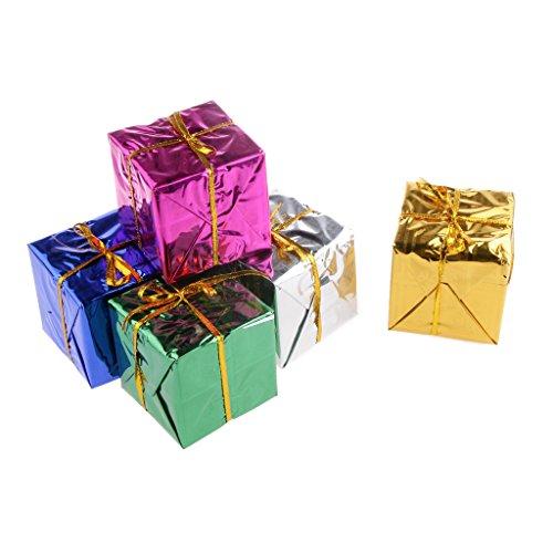 6 Pcs Christmas Tree Ornaments Foam Gift Box Decoration Wholesale
