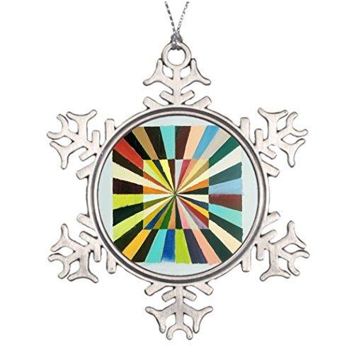 Christmas Snowflake Ornaments Ideas For Decorating Christmas Trees Box of Luz Snowflake Ornament Tree