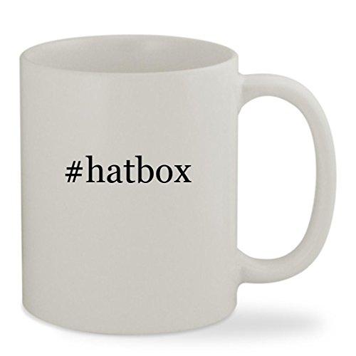 hatbox - 11oz Hashtag White Sturdy Ceramic Coffee Cup Mug