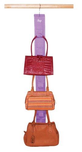 Master Craft Handbag Hangup Deluxe Purse and Scarf Organizer Lavender