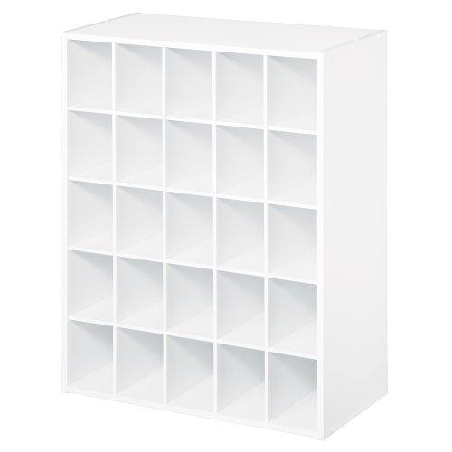 ClosetMaid 8506 25-Cube Organizer White