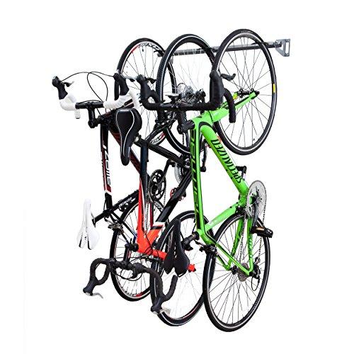 Monkey Bars Bike Storage Rack Stores 3 Bikes