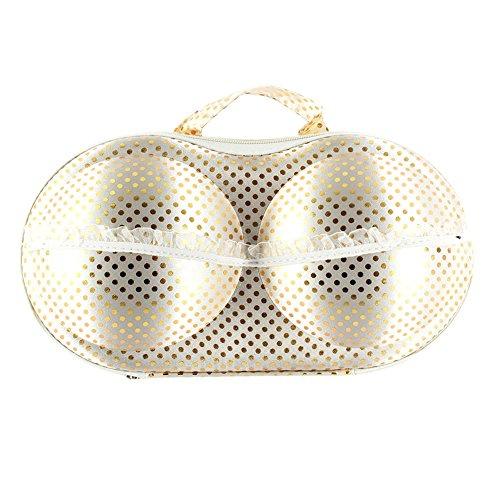Froomer Travel Home Organizer Zip Bag Case Bra Underwear Lingerie Storage Box Pouch