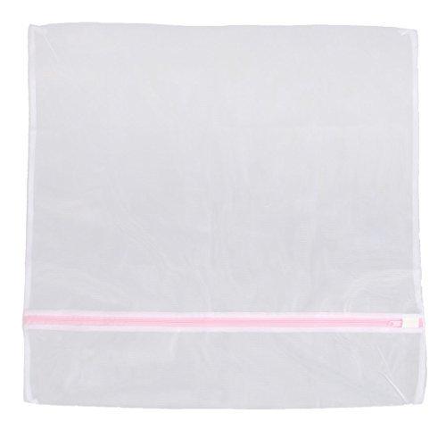 DealMux Polyester Clothes Bars Hosiery Washing Laundry Mesh Bag 60cm x 60cm