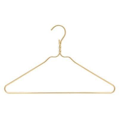 RDM Gold Coat Heavy Duty Hangers Set of 10