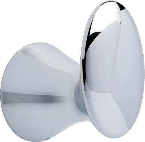 Delta Faucet Bath Accessories 73835 Lahara Bathroom Towel Holder Hook Polished Chrome