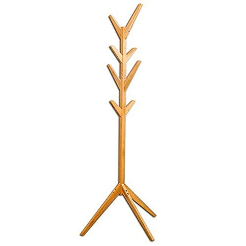 DQMSB Fashion Classic Tree 杈 Bamboo Hanger H175 cm Bamboo Color Coat Racks