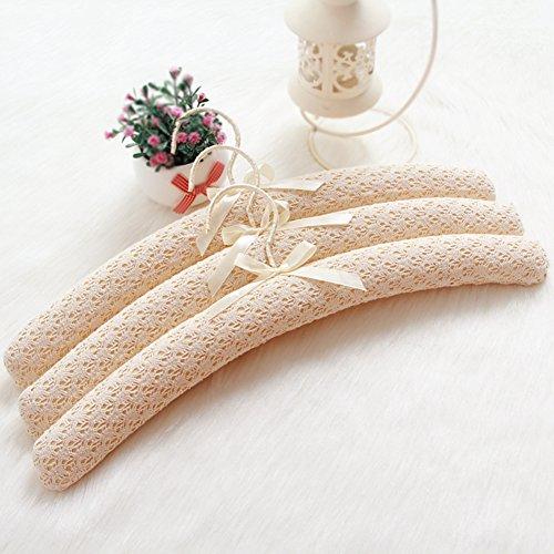 European Creative Sponge ClothAnti-slip Fabric HangersSeamless Hanger-A