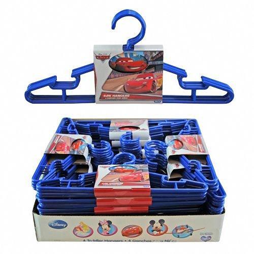 Disney Cars Kids Clothes Hangers Set of 12