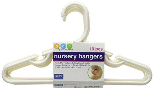 Delta Nursery Hangers 10pk White