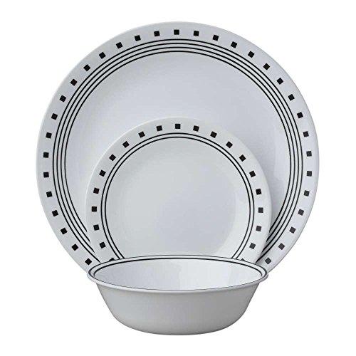 Corelle Livingware 24-Piece Dinnerware Set City BlockService for 8