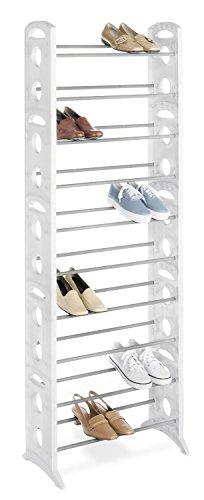 Whitmor Freestanding 30 Pair Shoe Tower