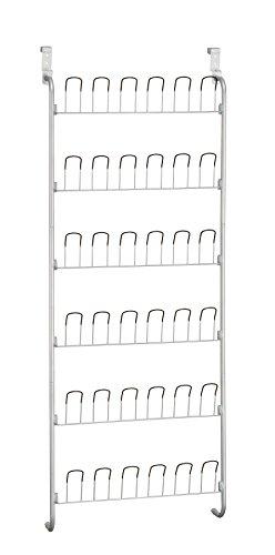 Organize It All Over-The-Door 18-Pair Wire Shoe Rack
