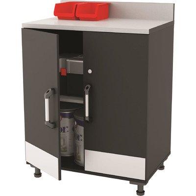 Altra Furniture SystemBuild Boss 2 Door Base Garage Cabinet