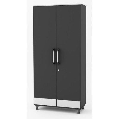 Altra Furniture SystemBuild Boss Tall Storage Garage Cabinet
