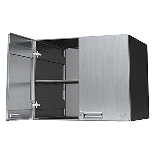 Garage Storage Cabinet 30x30x24 Inch Upper Stainless Steel