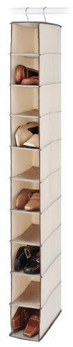 Whitmor 6004-3942 Tweed Hanging Shoe Shelf