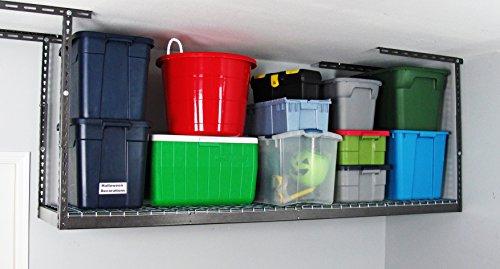 MonsterRAX - 2x8 Overhead Garage Storage Rack 24-45