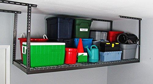 MonsterRAX - 3x8 Overhead Garage Storage Rack 24-45