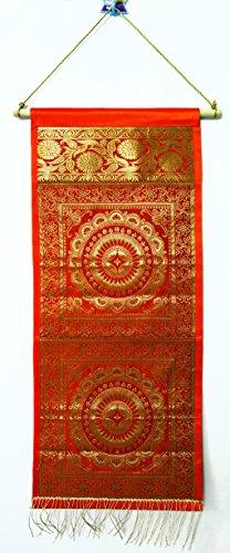 Jaipuri Handmade Decorative Silk Pocket Door Hanging Organiser