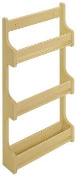 Spice Rack Door Mount by Hafele Wooden Cabinet Accessory maple 15 12 394 mm