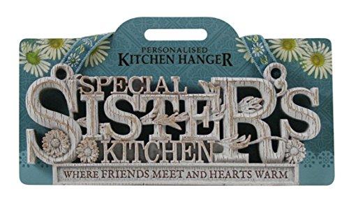 Kitchen Hangers 190090008 Special Sister Kitchen Plaque