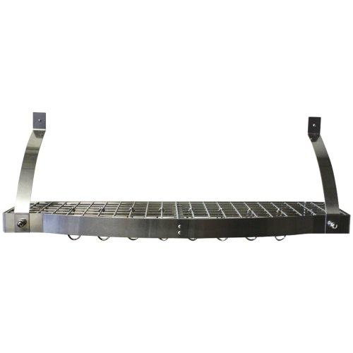Range Kleen Cw6009 Bookshelf Pot Rack Stainless Steel
