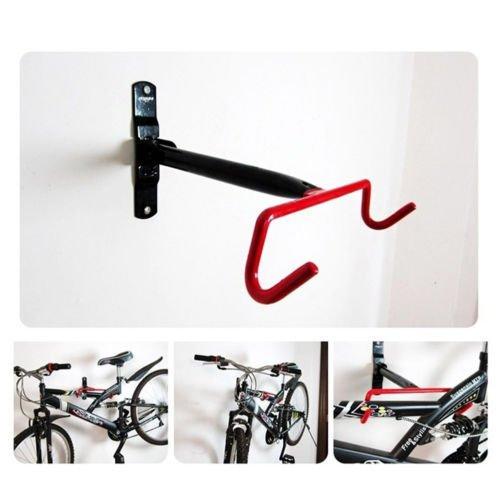EDTara Bike Bicycle Rack Storage Garage Cycling Bike Wall Mount Rack Hanger Bicycle Steel Hook Holder for Indoor Space Saving