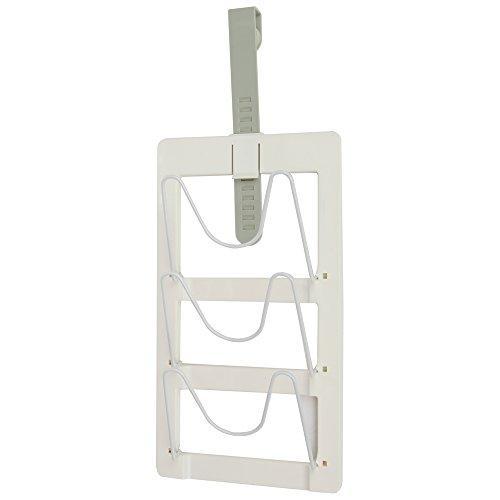 Home-X Cabinet Door Pot Lid Organizer Pot Lid Holder
