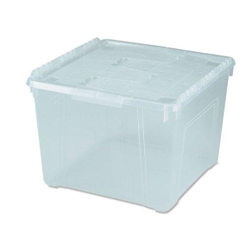 IRIS 60 Quart Wing Lid Storage Box 6 Pack