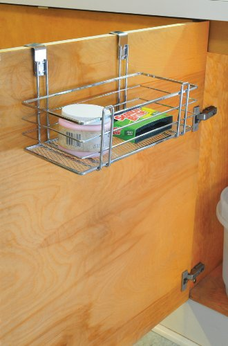 Totally Bath Living Over The Cabinet Mesh Basket Small