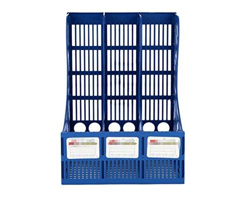 jlysheng File shelf file holder Data rack Triple-tier Office Desktop File box filoe folder file Basket cabinet file cabinet file file Tray file storage