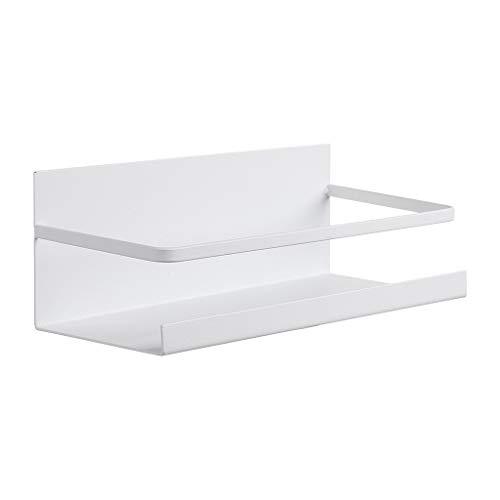 Lavany Magnetic Storage Rack Stainless Steel Spice Rack Shelf for RefrigeratorSpice Storage Fridge Shelf for Kitchen Organizer US Stock