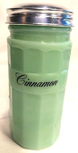 Jadeite Hoosier Style Spice Shaker Jar - Cinnamon