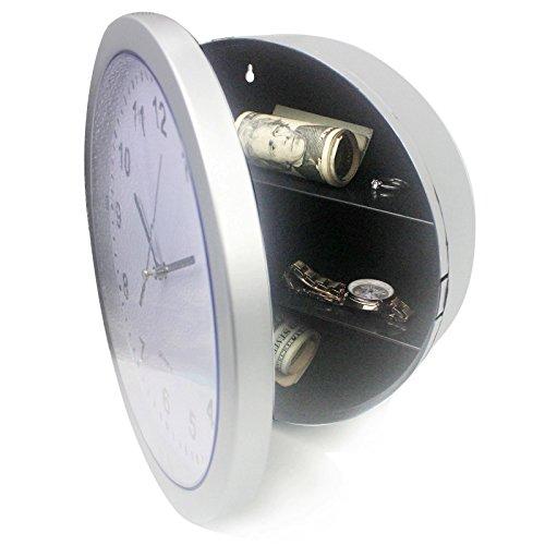 SINOCMP Hidden Wall Clock Wall Clock Safe Hidden Gun Wall Clock Hidden Storage Wall Clock