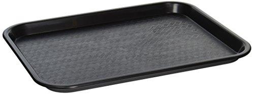 Winco FFT-1014K Fast Food Tray 10-Inch by 14-Inch Black