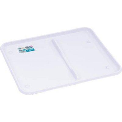 Wham Casa Large Dish Drainer Tray Ice Whitepack of 2 - 124471 x 2