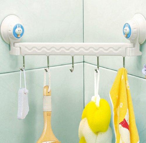 Gaorui Power Vacuum Suction Cup Hanger Hooks in Bathroom Kitchen Wall Sucking Pothook Bathroom Towel Hook